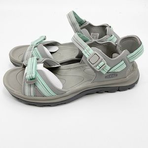 NEW KEEN Terradora Toe Post gray sandals shoes 10